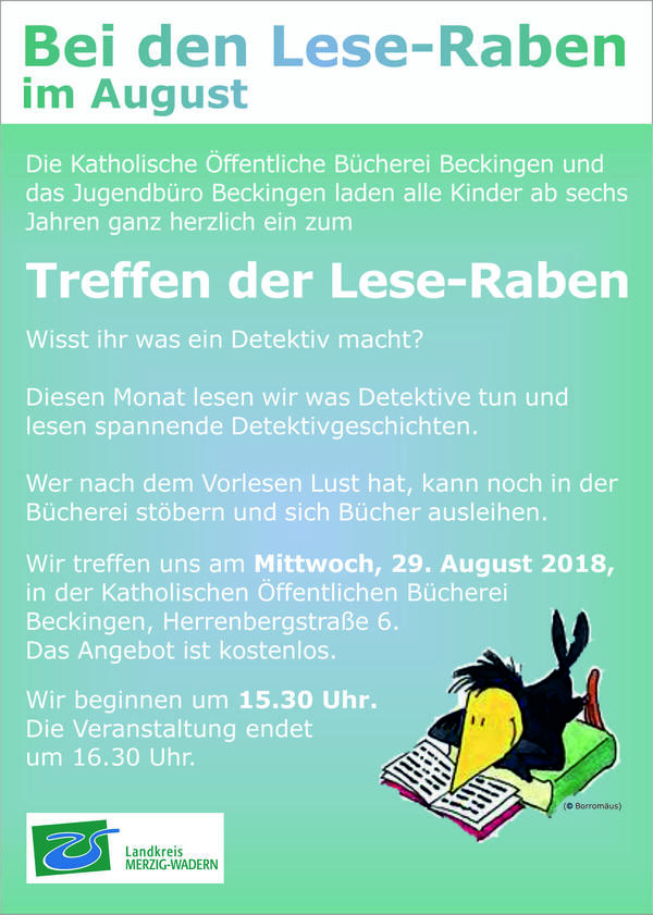 Flyer - LeseRaben-Aug2018