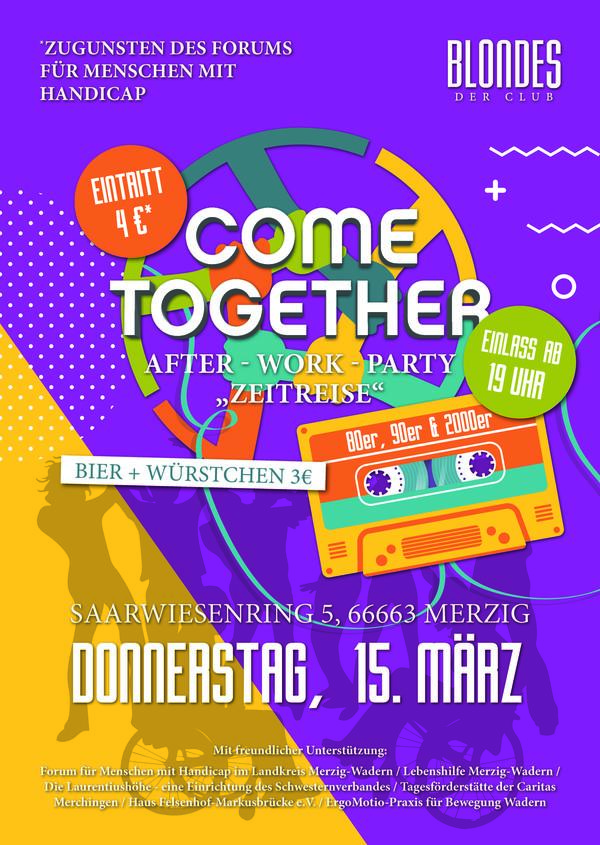 Come-Together-Zeitreise-15.03.18 Plakat
